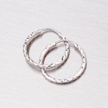 Zlaté kroužky 15 mm 12-065