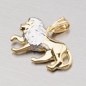 Zlatý přívěsek - Lev 1-4010-10