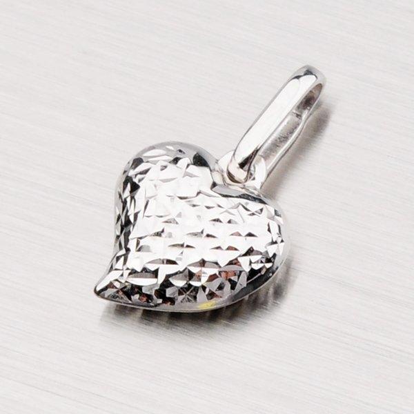 Srdce z bílého zlata 1-3519