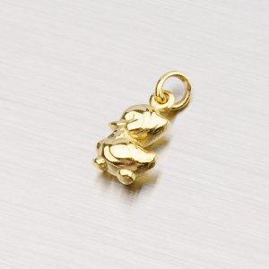 Zlatý přívěsek - Kachna 1-352