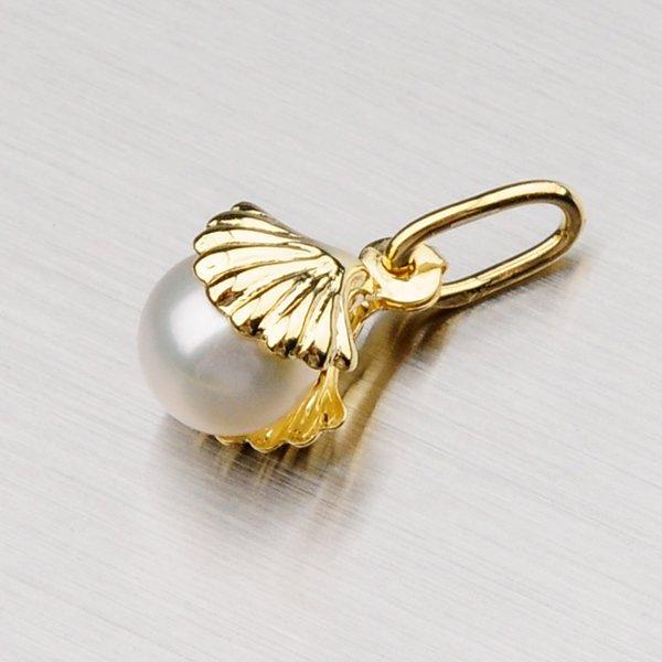 Perličkový přívěsek ze zlata 1-3504