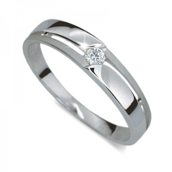 Dámský prsten s diamantem DF1660