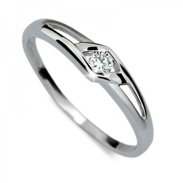 Dámský prsten s diamantem DF1633