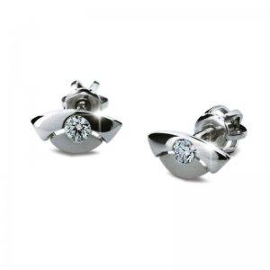 Dámské naušnice s diamanty DF1707