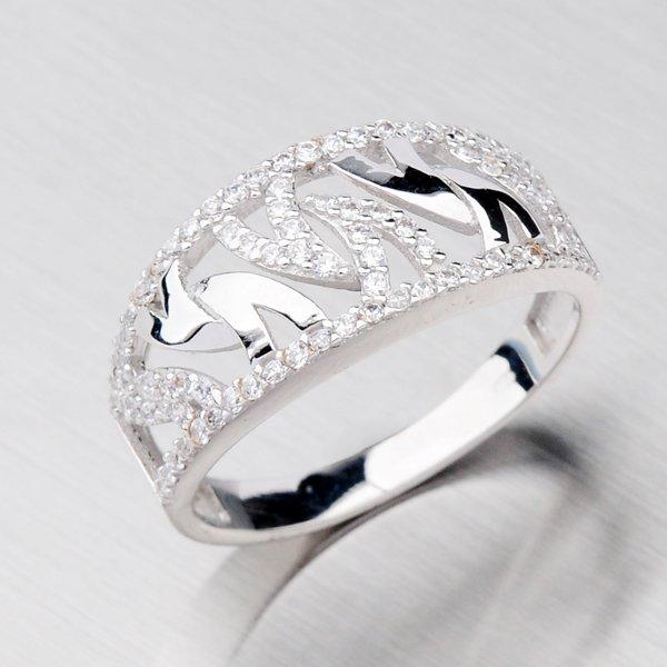 Elegantní prsten zlatý 11-050