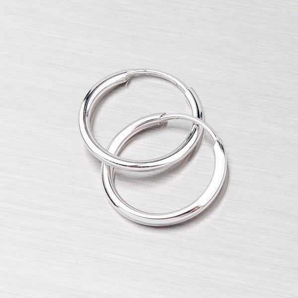 Dámské kroužky z bílého zlata 12mm 12-141