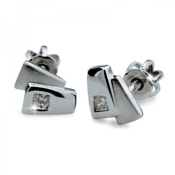 Dámské naušnice s diamanty DF1864