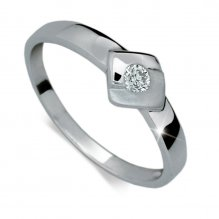 Prsten ze zlata DZ1241