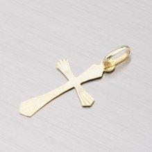 Křížek ze žlutého zlata 132-2032