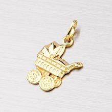 Kočárek ze žlutého zlata 13-045