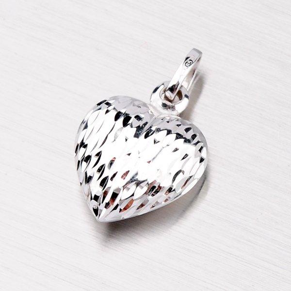 Přívěsek srdce zlaté 13-097
