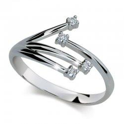 Dámský prsten s diamanty DF2063
