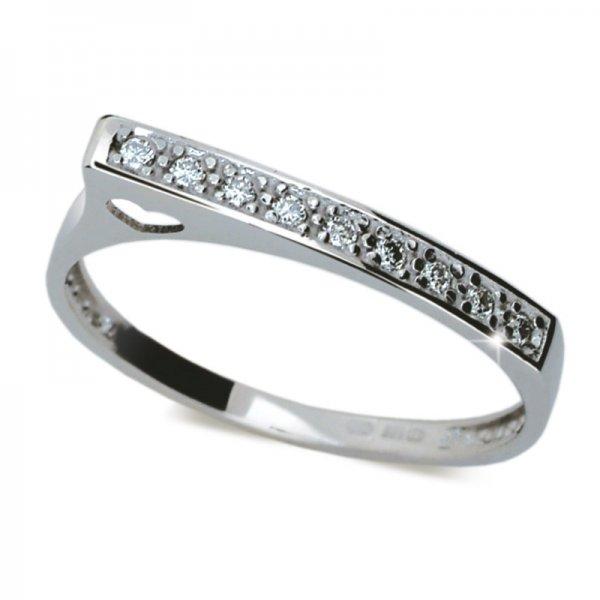 Dámský prsten s diamanty DF2003