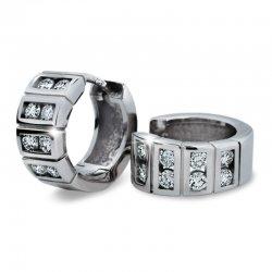 Dámské náušnice s diamanty DF2068
