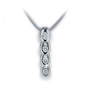 Přívěsek s diamanty DF1683