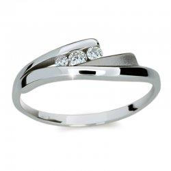 Dámský prsten s diamanty DF1750
