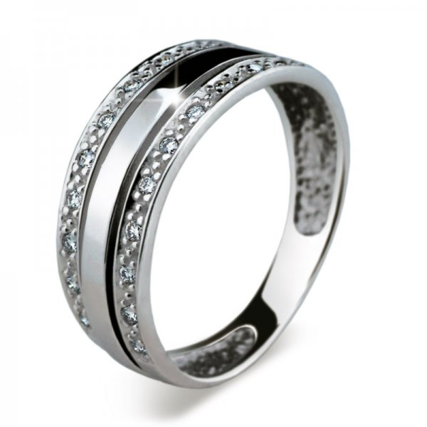 Dámský prsten s diamanty DF1773