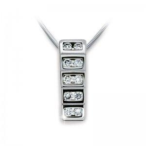 Přívěsek s diamanty DF2058