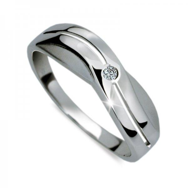 Prsten ze zlata DZ1562