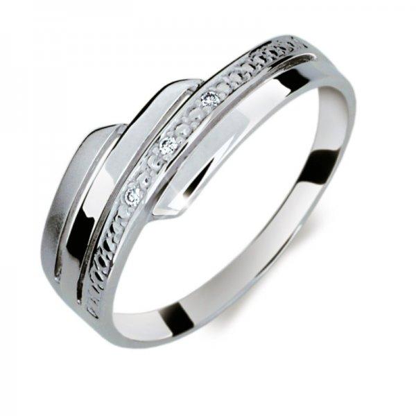 Dámský prsten s diamanty DF1844