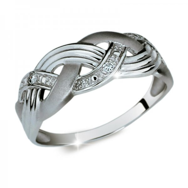Dámský prsten s diamanty DF1848