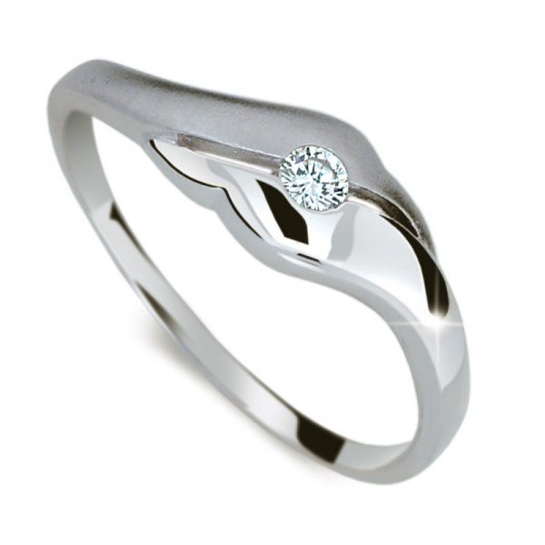 Dámský prsten s diamantem DF1838