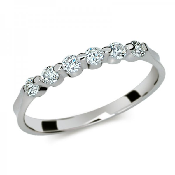 Dámský prsten s diamanty DF1951