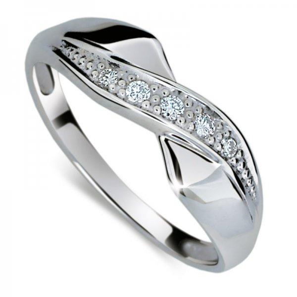 Dámský prsten s diamanty DF1915