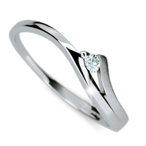 Prsten zlato se zirkonem DZ1718