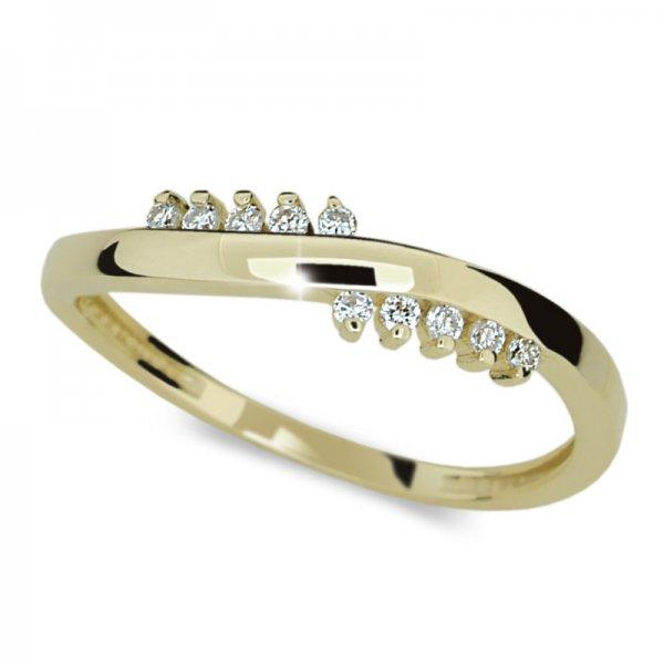 Dámský prsten s diamanty DF2064