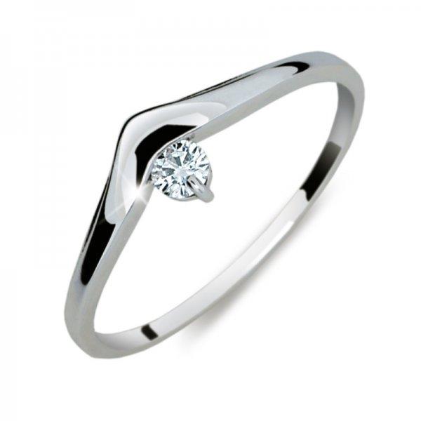 Dámský prsten s diamantem DF2016
