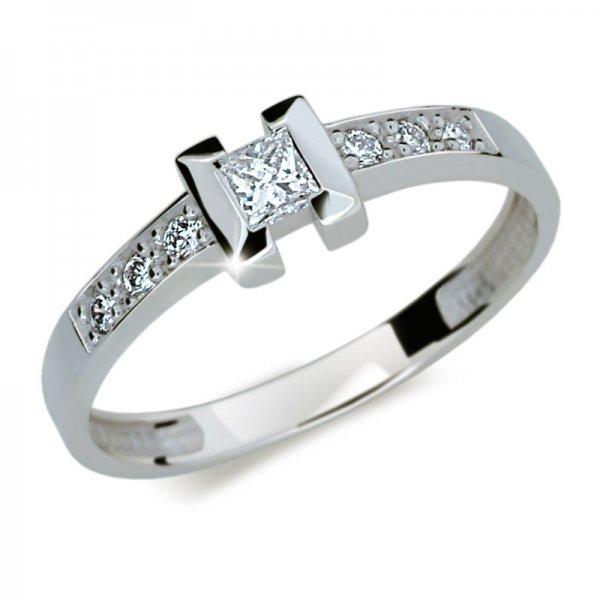 Dámský prsten s diamanty DF2062