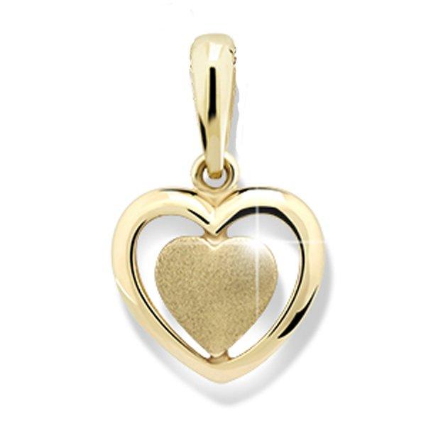 Zlaté srdce DZ1816Y