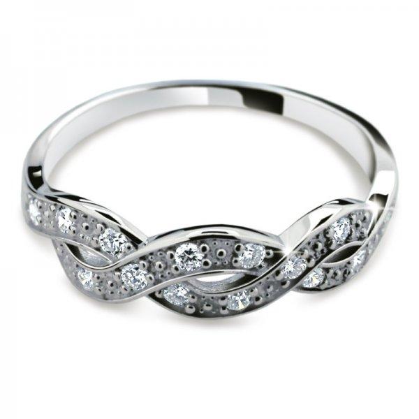 Dámský prsten s diamanty DF2080