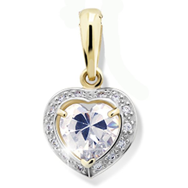 Srdce ze zlata DZ1810Y