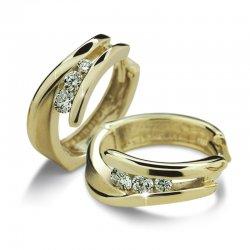 Náušnice s diamanty DF1794Z