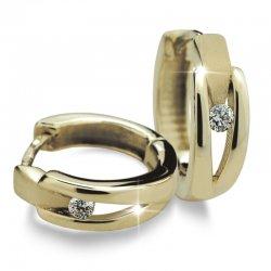 Náušnice s diamanty DF2023Z