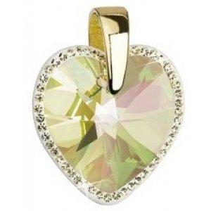 Přívěsek se Swarovski krystaly 34137.6 LUM.GREEN AU