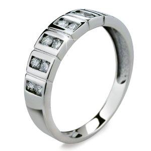 Prsten zlato se zirkony DZ2079