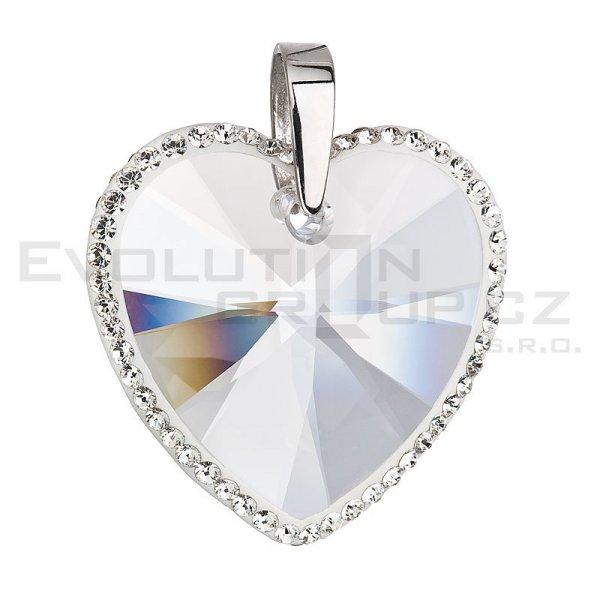 Přívěsek se Swarovski ELEMENTS 34138.1 krystal
