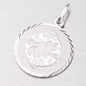 Přívěsek ze stříbra - Ryby M5089-02