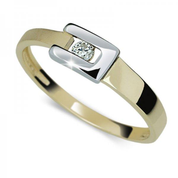 Dámský prsten s diamantem DF2039Z