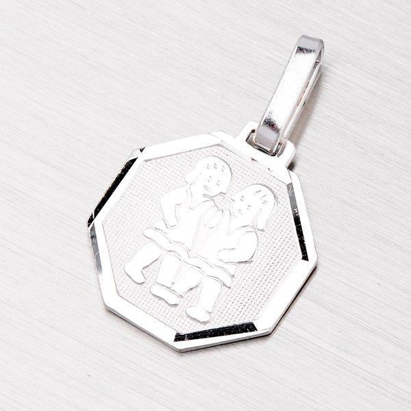 Stříbrný přívěsek - Blíženci M5056-05