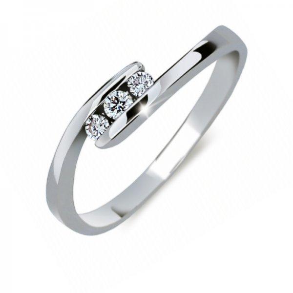 Zásnubní prsten s diamanty ZP2072D