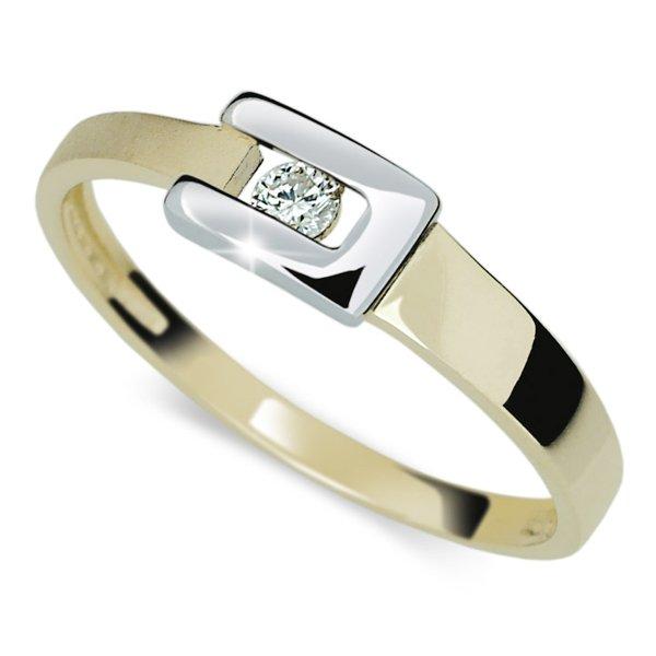 Prsten zlato se zirkonem DZ2039Z