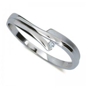 Prsten ze zlata DZ2000