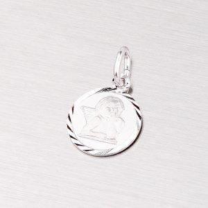 Stříbrný přívěsek s andělíčkem M5406B