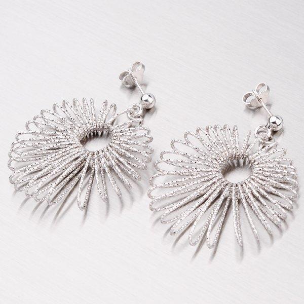 Extravagantní stříbrné náušnice YNG2041