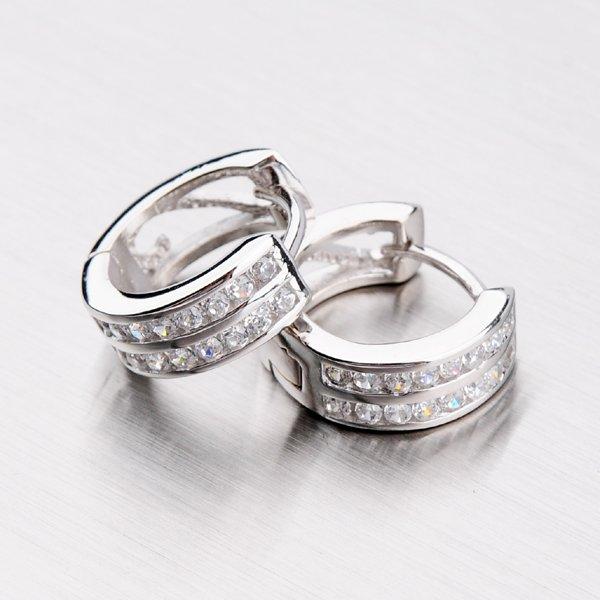 Stříbrné kruhy DE3711