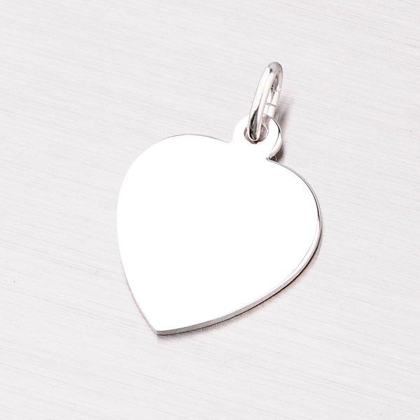 Stříbrný přívěsek ve tvaru srdce MPN5893A